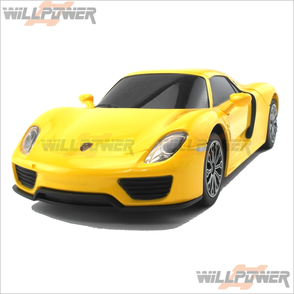 Spyder Sports Car: Porsche 918 Spyder Sport Car RTR (RC-WillPower) RASTAR