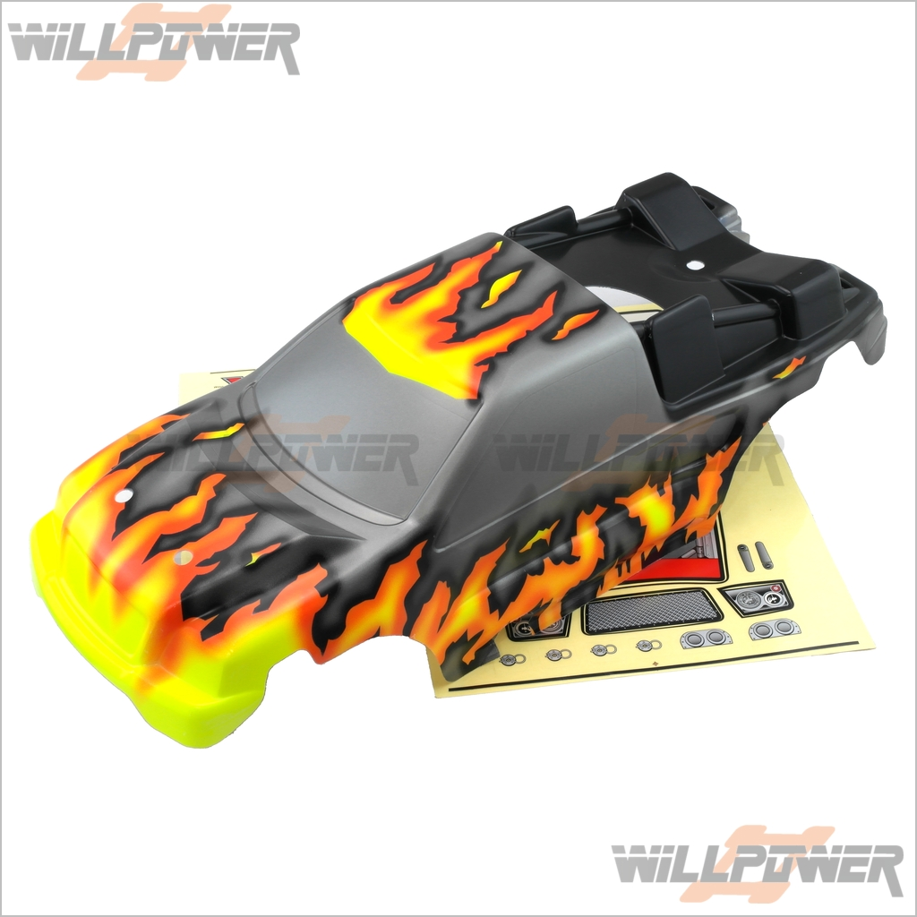 Painted Printed Body Body Body Shell Cover XT-23B (RC