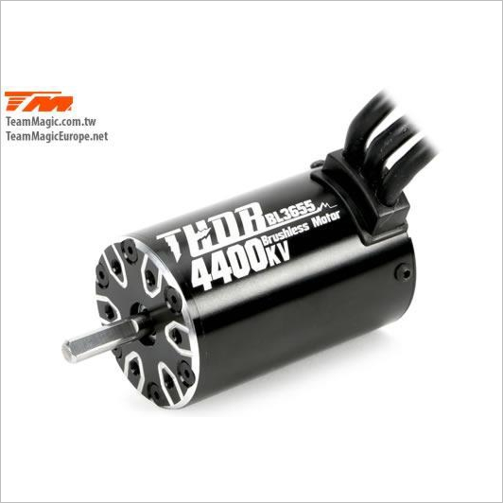 THOR 3655 Brushless Motor 4400KV  191012 (RC-WillPower) TeamMagic E5