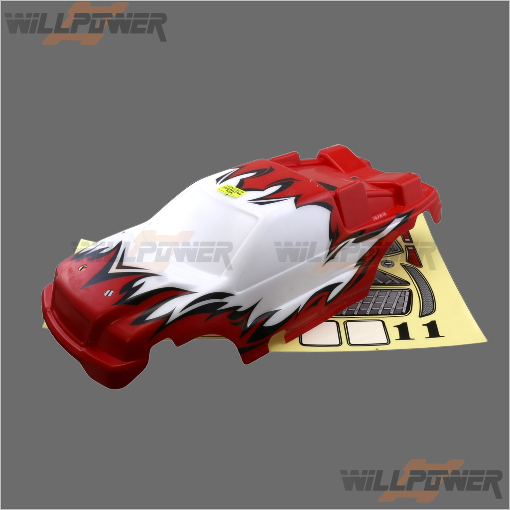Painted Printed Body Shell Cover  XT-23C  RC-WillPower  HongNor X1CRT