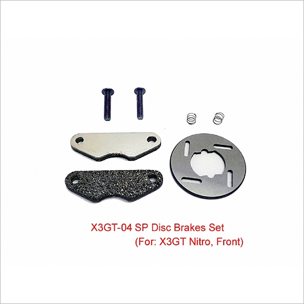 SP Brake Pad + Disk  X3GT-04 (RC-WillPower) HongNor X3-GT