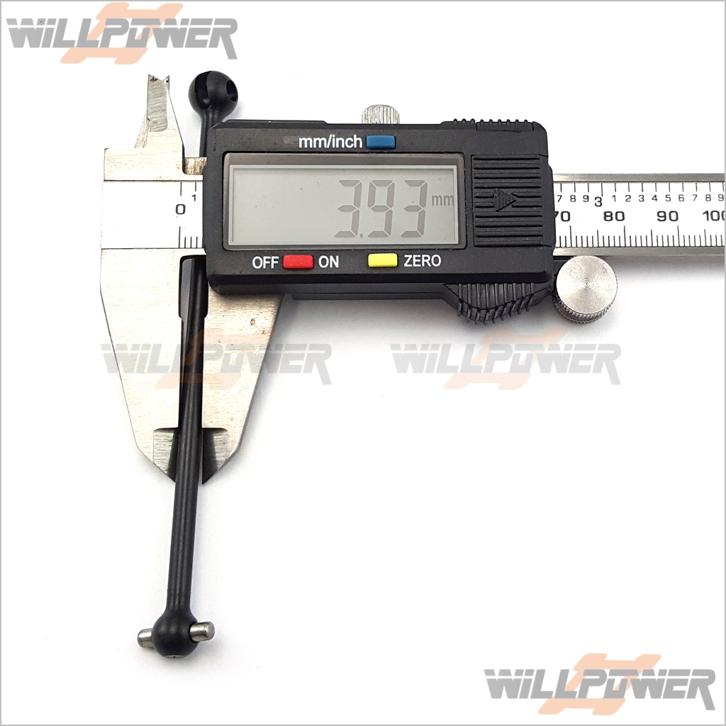 RC-WillPower HOBAO Hyper 9 CVD Shaft #89009