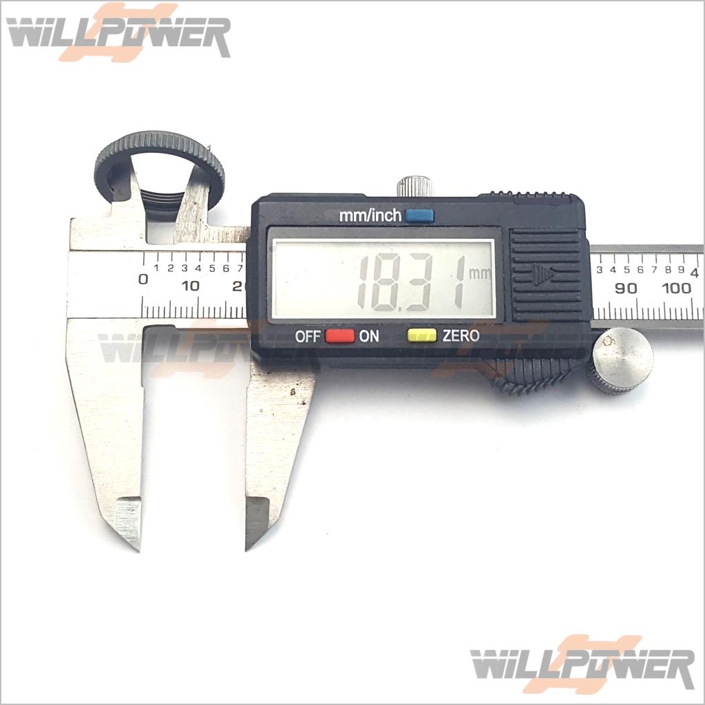 RC-WillPower HongNor NEXX8T//X2CRT//X3-GTe Shock Damper Adjustment Ring #387D