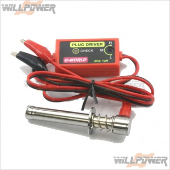 12V Glow Plug Starter Driver Cable