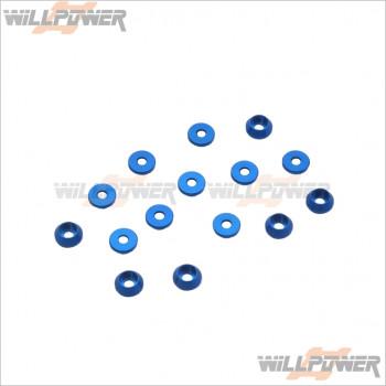 Q-World 3MM圓形沉頭墊片(15個裝)   #QW-313