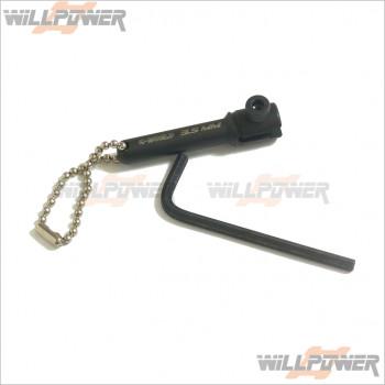 Q-World Shock Shaft Holder Fit 3.5mm #QW-327