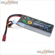 ACE 7.4V/1800MHA Li-Po Rechargeable Battery