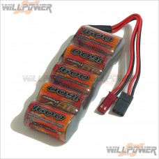 VB-POWER 6V/1600MAH Flat Pack Rechargeable Battery