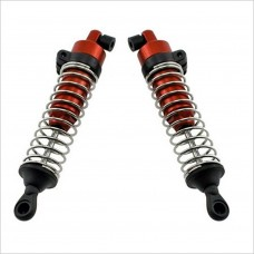 HOBAO HOBAO PIRATE 10 TRUCK REAR SHOCK ABSORBERS RED #T143R [1/10 Truck]