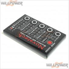 NOVATECH Brushless ESC Setting Card #B6090