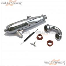 SH EFRA-2075 Exhaust Tuned Pipe / 3 Chamber #SA219FS