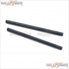 HongNor Front/Rear Lower Arm Shaft #X1-24 [NEXX8] [X1CR] [X3-GT] [X3-GTe] [X3e SABRE]