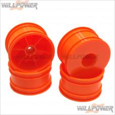HongNor CRT.5 Dish Wheel, Orange * 4 pcs #TMS-29O [CRT.5]