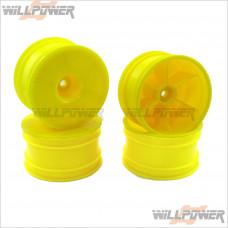 HongNor CRT.5 Dish Wheel, Yellow * 4 pcs #TMS-29Y [CRT.5]
