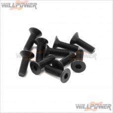 HOBAO Hex socket head screws 3x10mm #31310 [Hyper MINI ST/RC Screws]