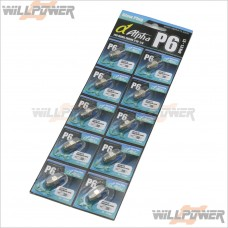 Alpha Glow Plug P6 Cold 10pcs #MP01-010702
