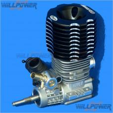 HOBAO Mach 28 6-port w/o Pull Starter Turbo Engine #H-2801T [RC Engines]