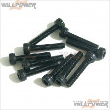HOBAO 3x16mm x2 Cap Screws #32316 [Hyper 7/Hyper 9/RC Screws]