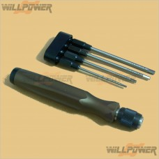 Hex Wrench Set 4 Pieces (Magnet)