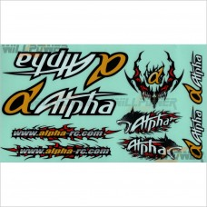 Alpha Decal Sticker