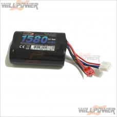 Sworkz Electronics RC Receiver Li-ion 7.4V Battery (1580 mah) #TP-73001