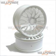 HOBAO Hyper GTB Rally Wheels ( 2pcs ) #90070 [Hyper GTB]