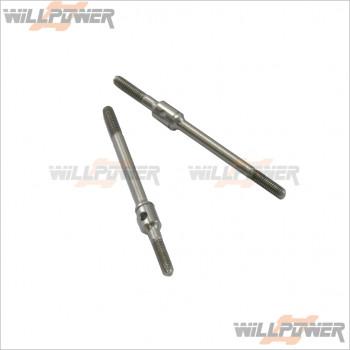 Q-World 不鏽鋼螺桿3*55 2PC                    #QW-LC-2605