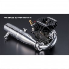 O.S. SPEED B2102 Combo w/ T-2090SC Pipe #1A301