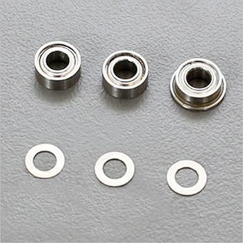 ARC Rear Body Mount Ball Bearing Nuts #R809012