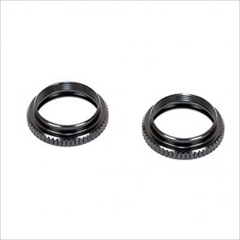 ARC R11 Shock Adj Nut-Black (2) #R112032