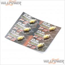 O.S. Speed P3 Turbo Glow Plug 24K Gold 6pcs #71642720