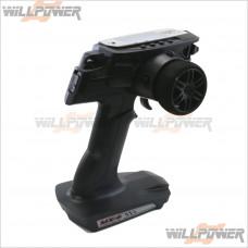 SANWA MX-6 3-Ch 2.4GHz Pistol Transmitter w/ RX-391W #MX-6